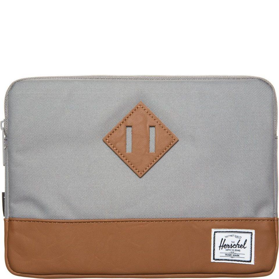Herschel Heritage Tablet Tasche in grau / braun