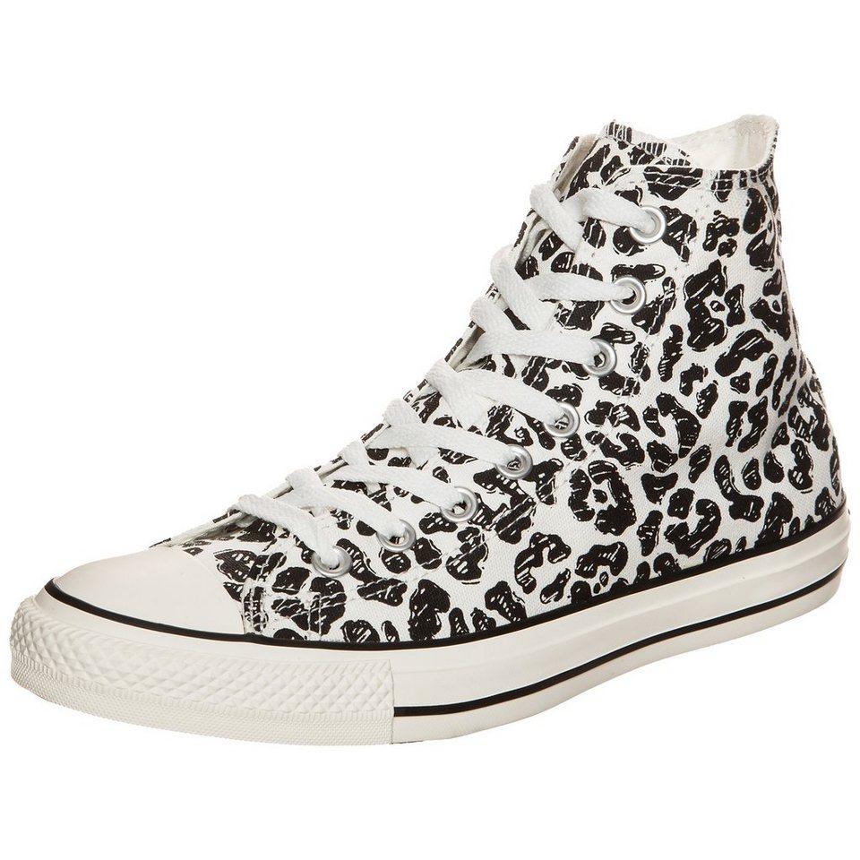CONVERSE Chuck Taylor All Star High Sneaker in weiß / schwarz