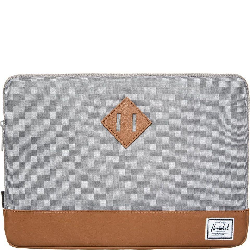 Herschel Heritage Notebook Tasche in grau / braun