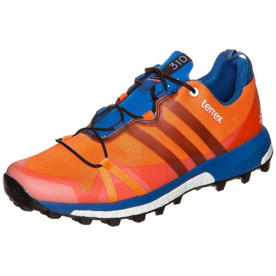adidas Performance Terrex Agravic Trail Laufschuh Herren in orange / blau