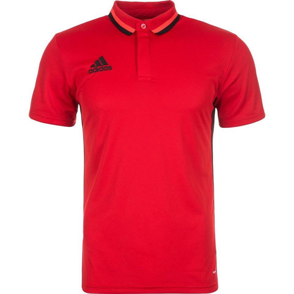 adidas Performance Condivo 16 CL Poloshirt Herren in rot / schwarz