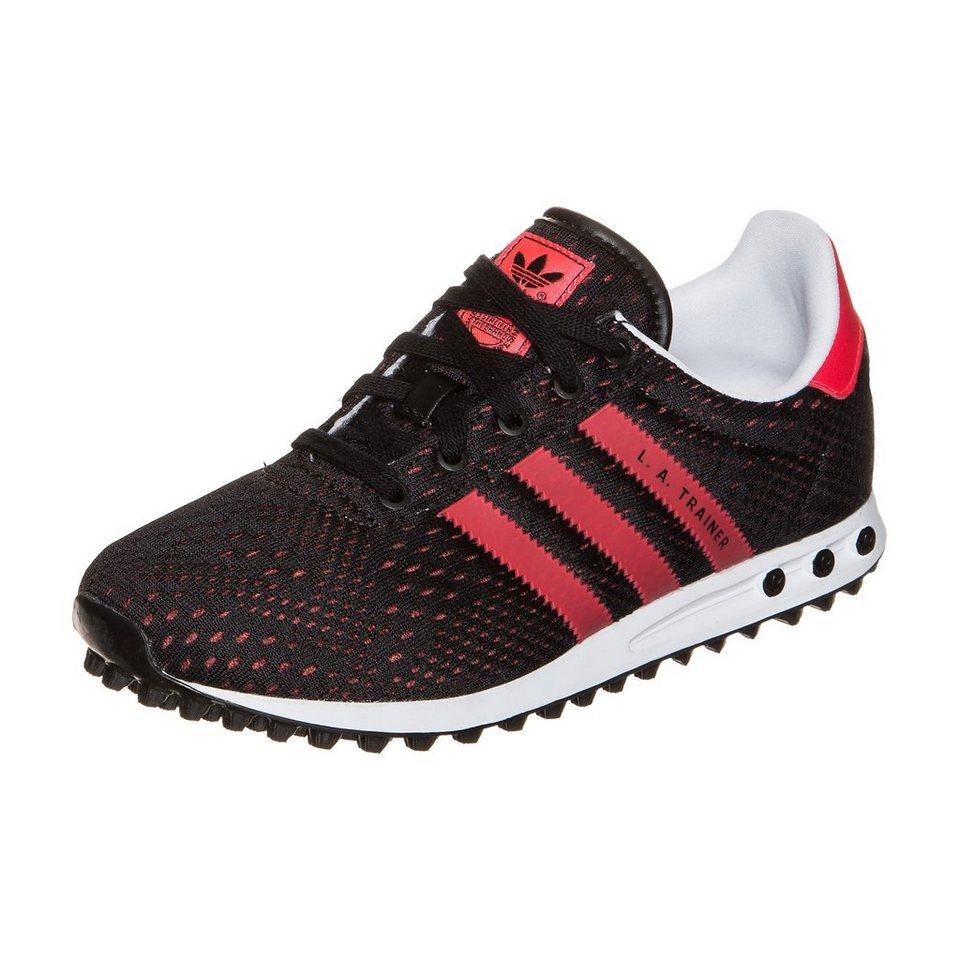 adidas Originals LA Trainer EM Sneaker Kinder in schwarz / pink