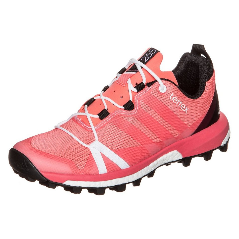 adidas Performance Terrex Agravic Trail Laufschuh Damen in rosa / schwarz