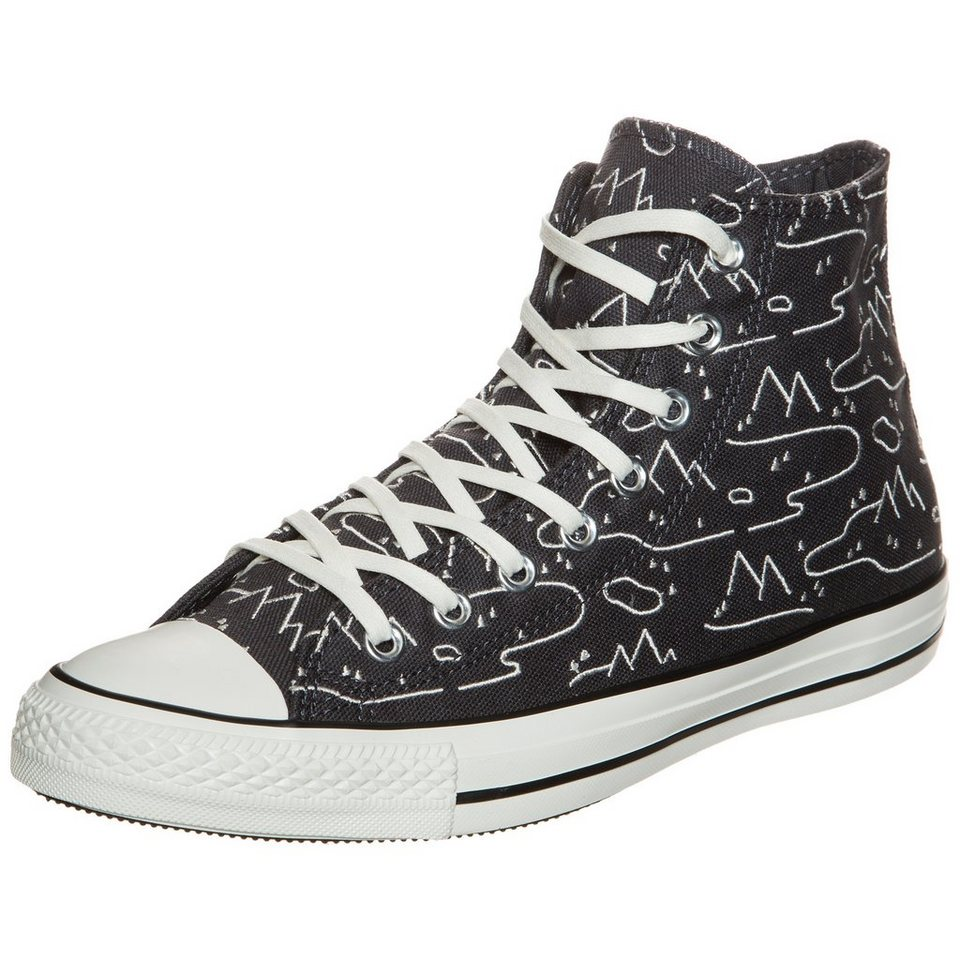 CONVERSE Chuck Taylor All Star High Sneaker in anthrazit / weiß