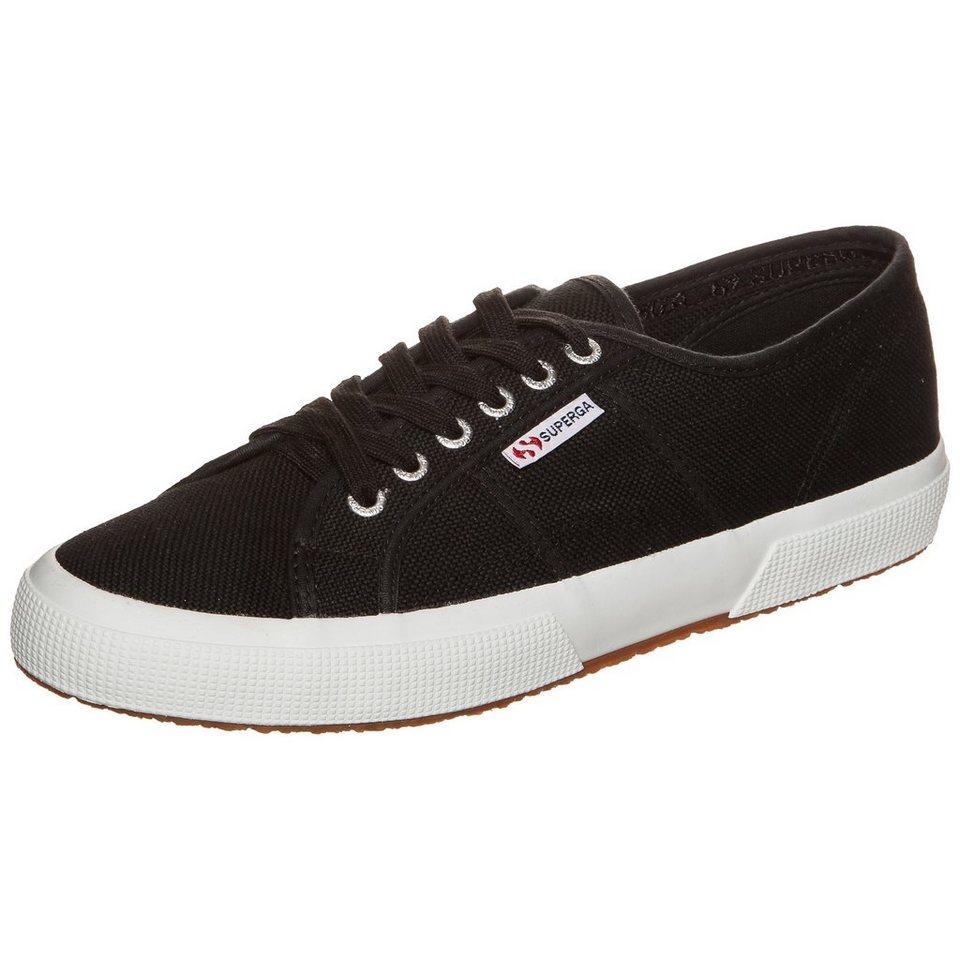 Superga 2750 Cotu Classic Sneaker in schwarz / weiß