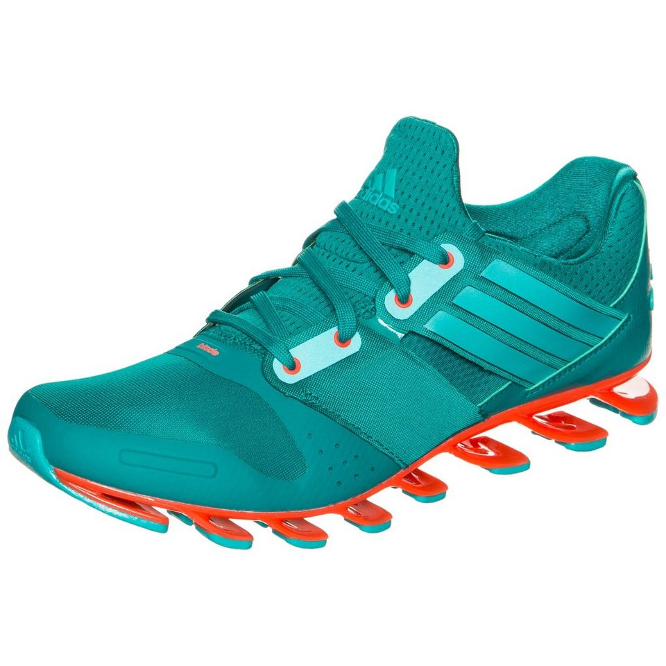 adidas Performance Springblade Solyce Laufschuh Herren in grün / orange