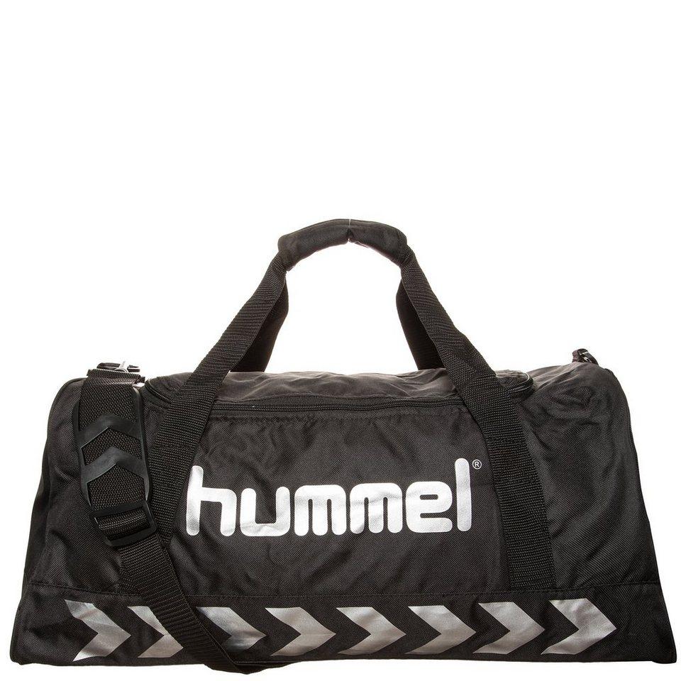 HUMMEL TEAMSPORT Authentic Sporttasche in schwarz / silber
