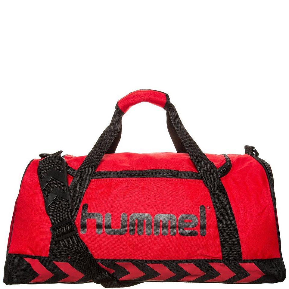 HUMMEL TEAMSPORT Authentic Sporttasche in rot / schwarz