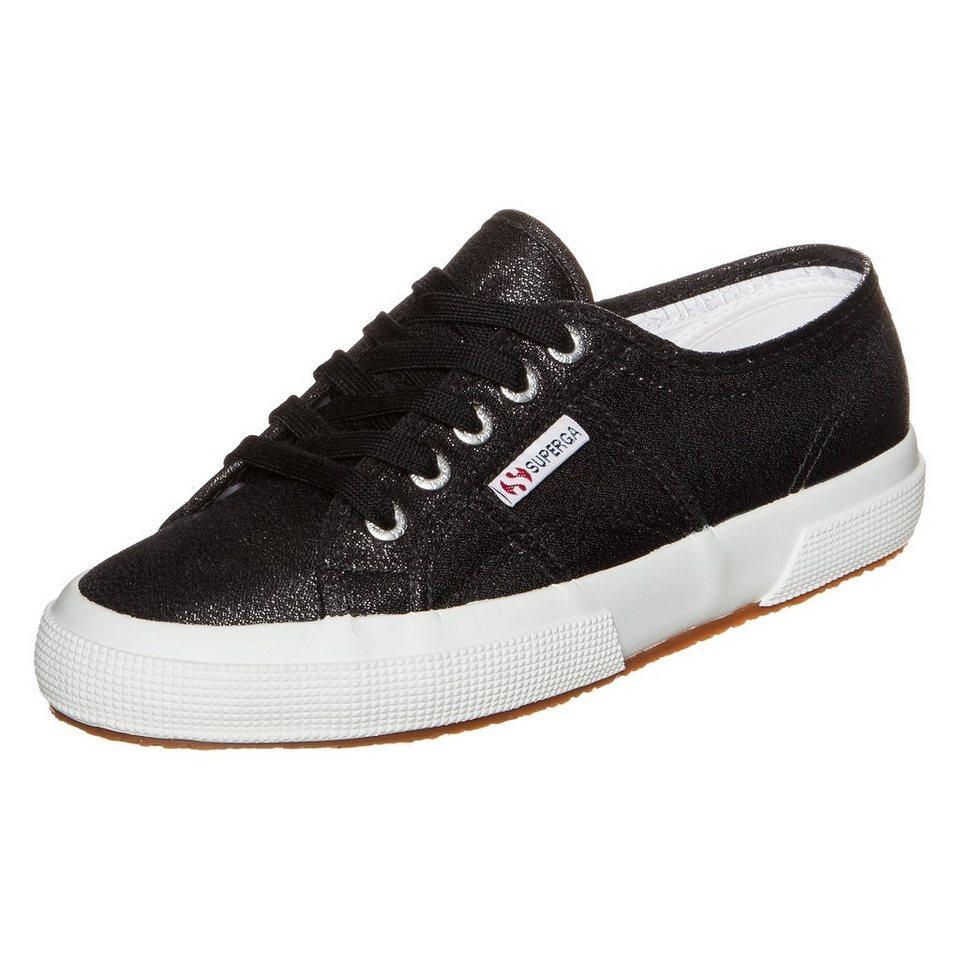 Superga 2750 Lamew Sneaker Damen in schwarz / weiß