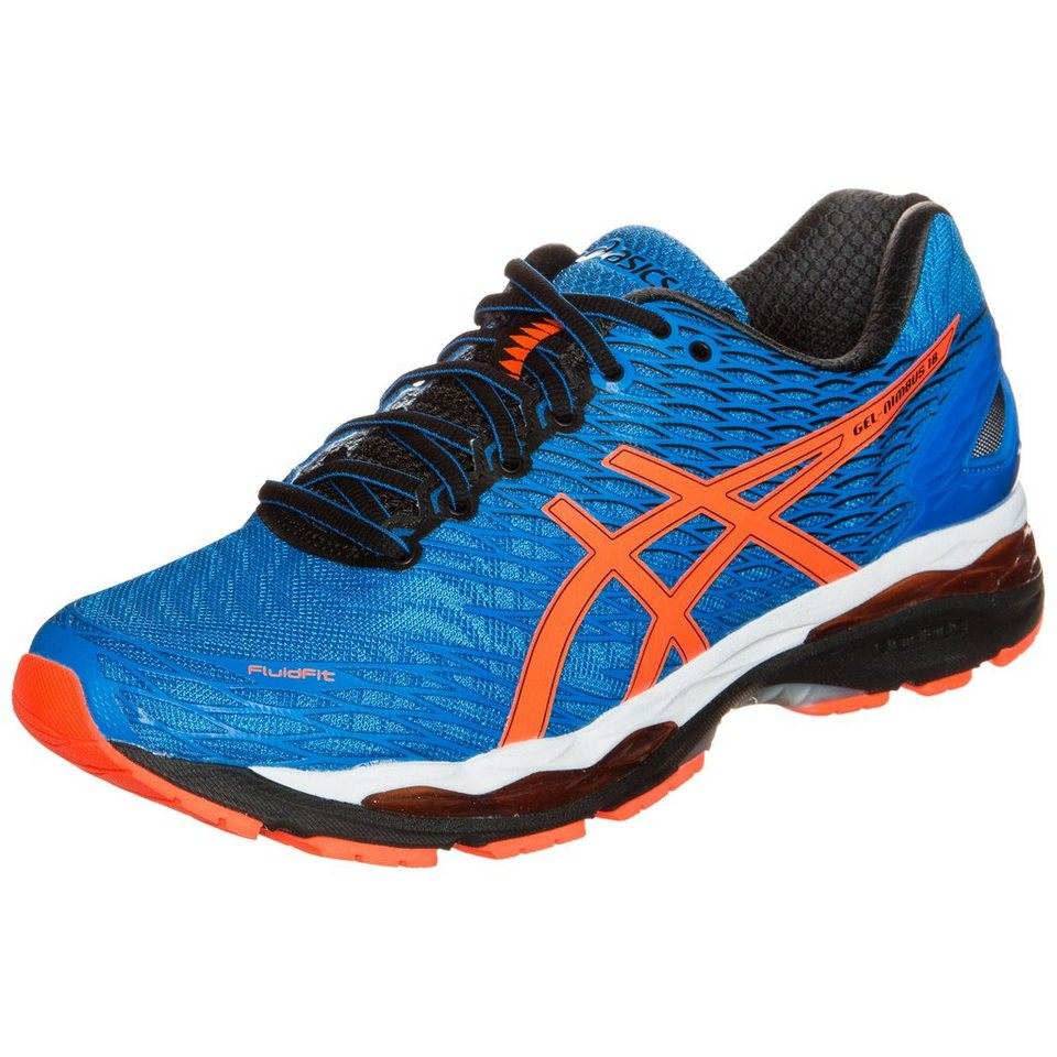 ASICS Gel-Nimbus 18 Laufschuh Herren in blau / orange