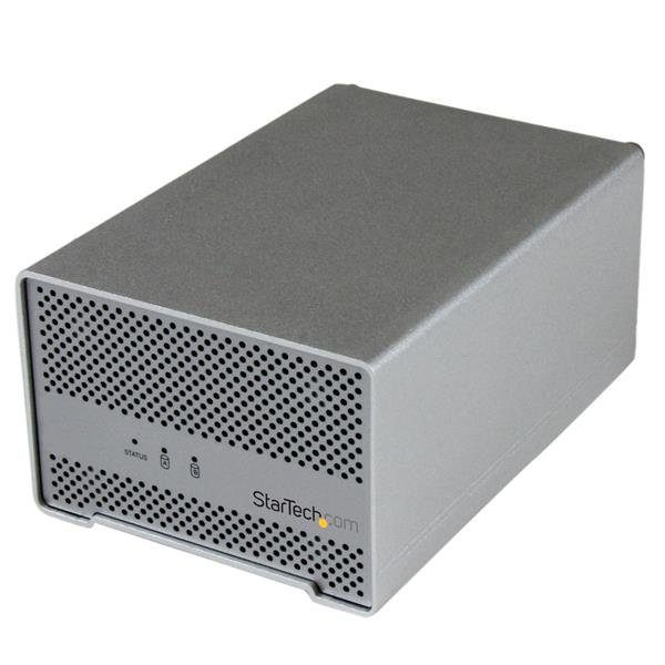 Startech.com Externe Gehäuse »2,5 Dual SATA III Thunderbolt Festplattengehaeuse«