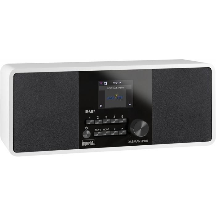 IMPERIAL Hybrid-Stereo-Radio »DABMAN i200« in Weiß