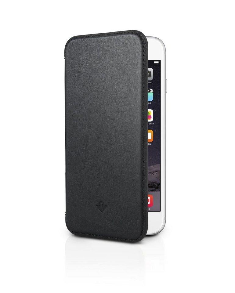 Twelve South Lederhülle mit Standfunktion für iPhone 6 Plus, 6s Plus »SurfacePad« in schwarz