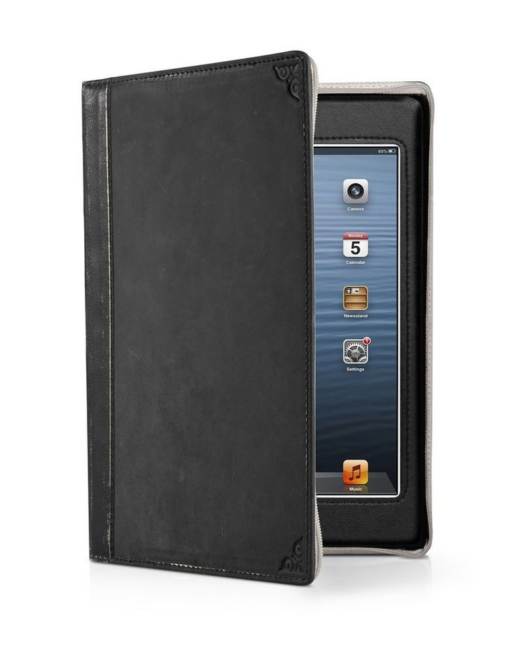 Twelve South Lederhülle Buchformat für iPad mini, mini Retina »BookBook« in schwarz
