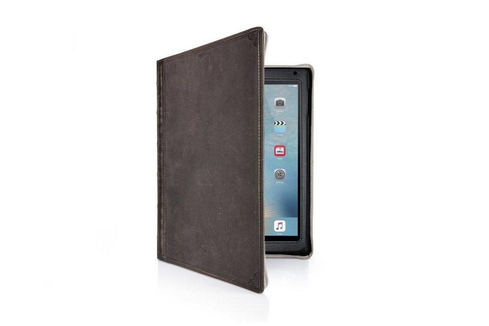 Twelve South Lederhülle im antiken Buchformat für iPad Air 2 »BookBook« in braun