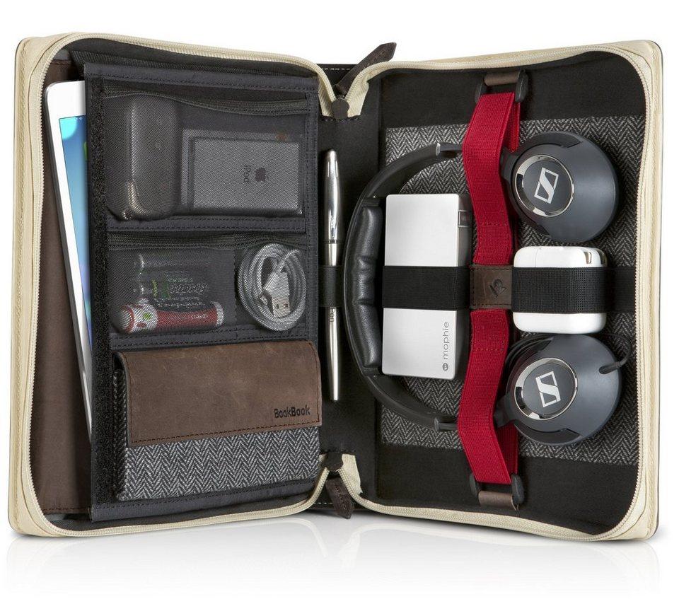 Twelve South Lederhülle im Buchformat für Tablets, iPad, Zubehör »BookBook Travel Journal« in braun