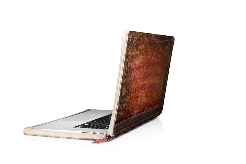 Twelve South Lederhülle im Buchformat für MacBook Pro Retina 15 »BookBook Rutledge« in braun