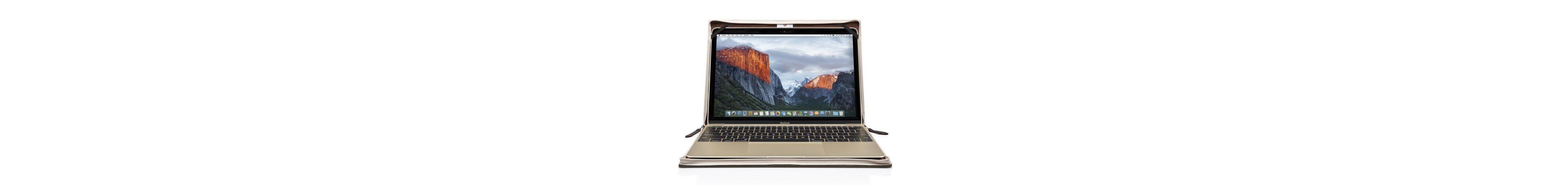 Twelve South Lederhülle im Buchformat für MacBook 12 »BookBook«