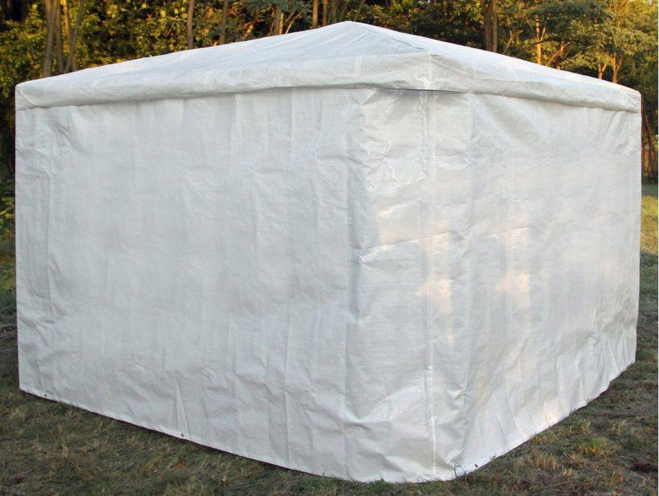 Wetterschutz »Wetterschutzumhang weiß für Pav. Mindelheim« in weiß