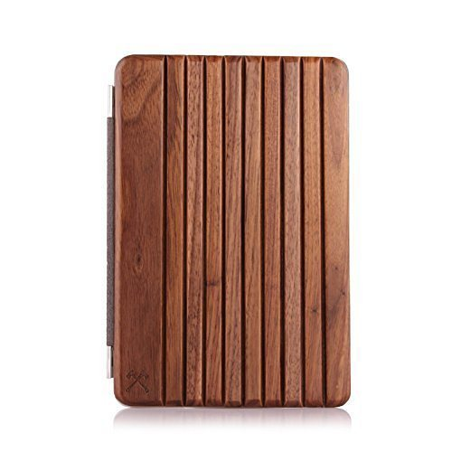 Woodcessories EcoCover - Echtholz Cover für iPad Air 1 und 2 - Forester in braun