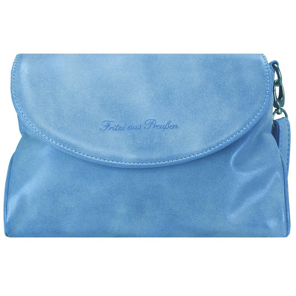 Fritzi aus Preußen Nana Sidney Clutch Tasche 19,5 cm in turquoise