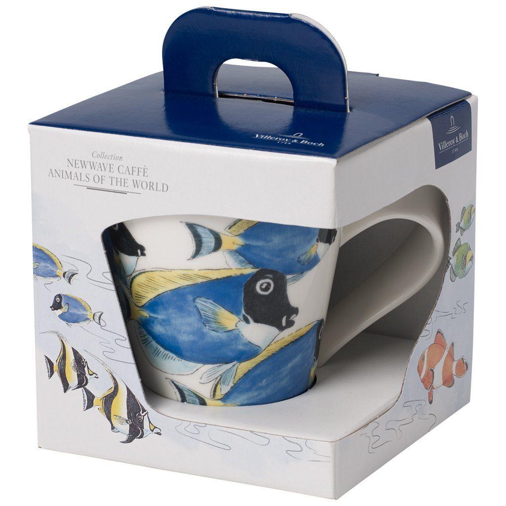 Villeroy & Boch Becher mit Henkel (Geschenkkarton) »NewWave Caffè Doktorfisch«