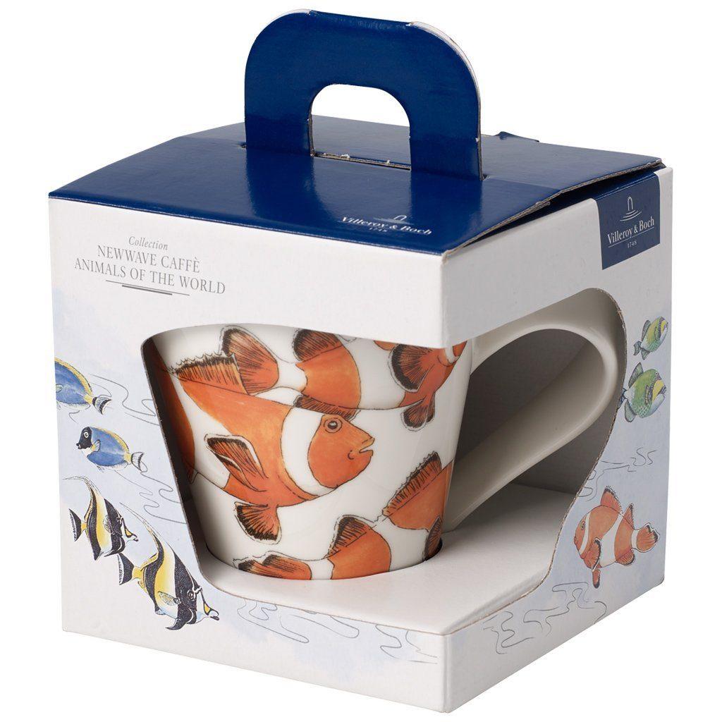 Villeroy & Boch Becher mit Henkel (Geschenkkarton) »NewWave Caffè Clownfisch«