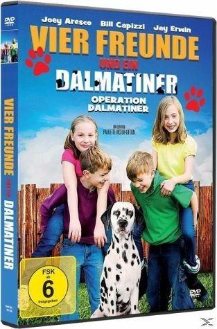 DVD »Vier Freunde und ein Dalmatiner«