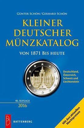 Broschiertes Buch »Kleiner deutscher Münzkatalog«