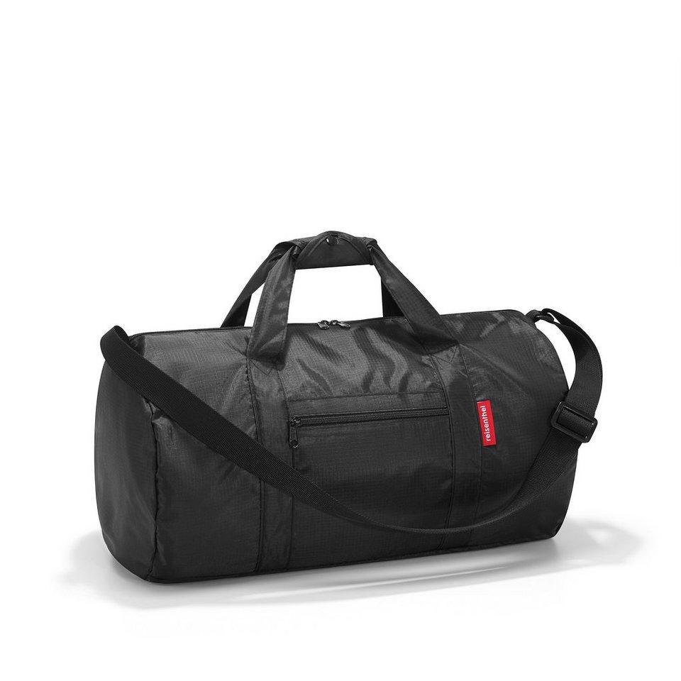 Reisenthel® Faltbare Tasche »mini maxi dufflebag black« in schwarz