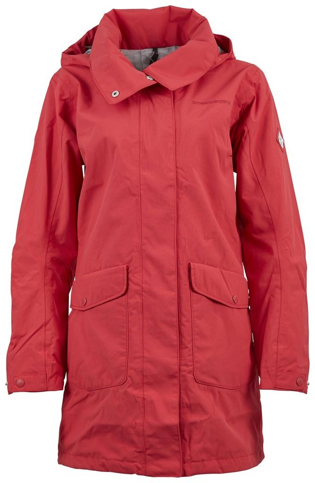 Didriksons1913 Mantel »BEAT WNS PARKA« in FLAG RED
