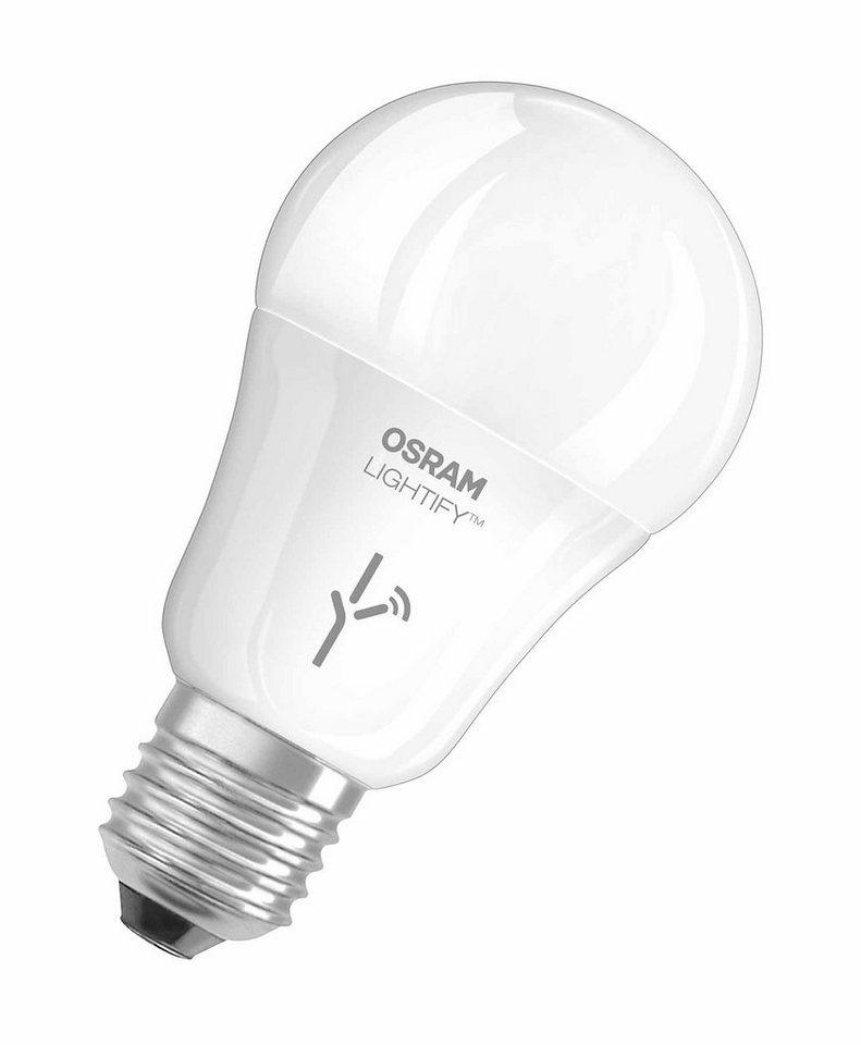 Osram Lightify - Smart Home - Licht »CLA 60 / 10W LED-Glühlampe« in weiss