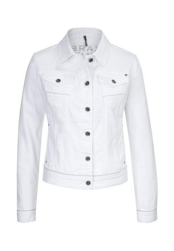 BRAX Jacke »MIAMI« in WHITE