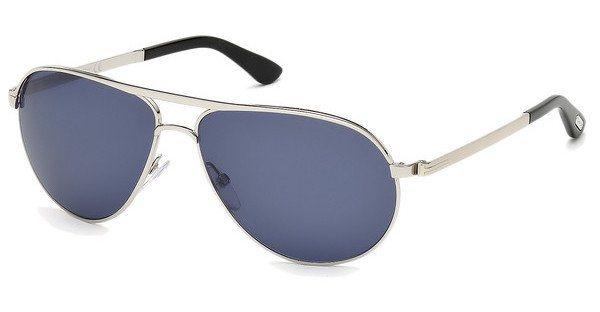 Tom Ford Herren Sonnenbrille »Marko FT0144« in 18V - grau/blau