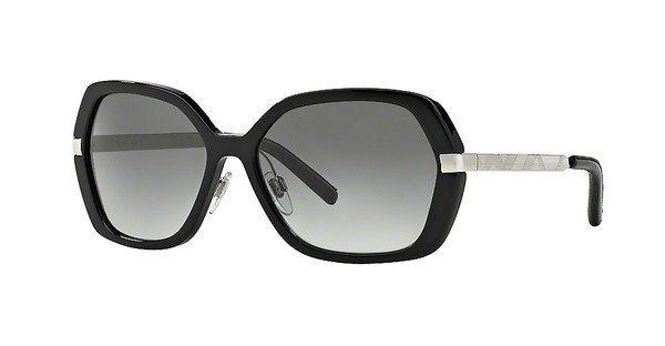 Burberry Damen Sonnenbrille » BE4153Q« in 300111 - schwarz/grau