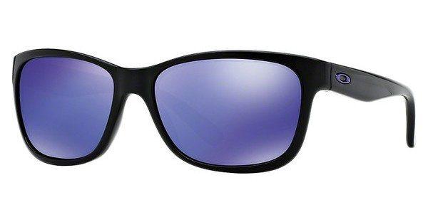 Oakley Damen Sonnenbrille »FOREHAND OO9179« in 917926 - schwarz/blau