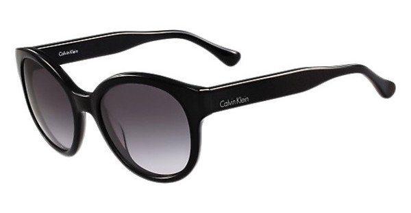 Calvin Klein Sonnenbrille » CK4313S« in 001 - schwarz/grau