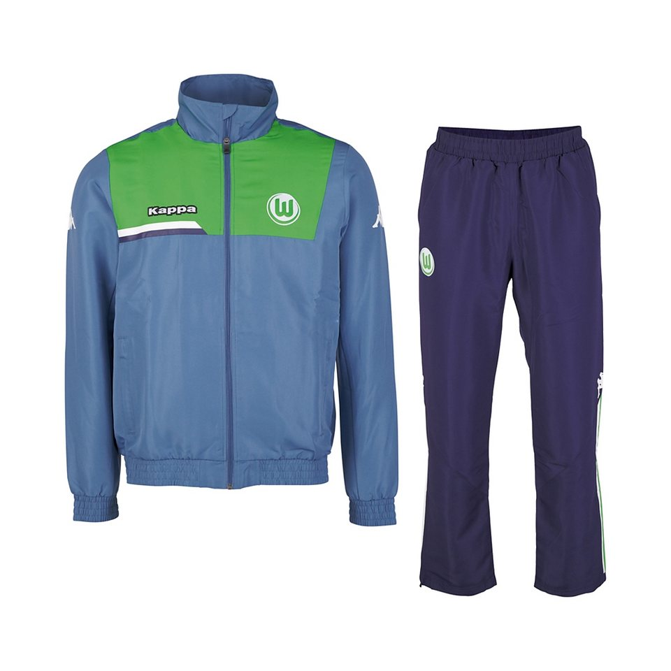 KAPPA Fan Artikel »VfL Wolfsburg Trainingsanzug Kids 15-16« in jeans