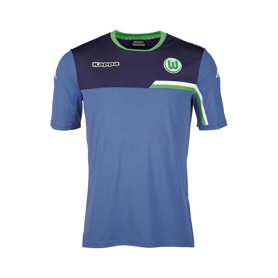 KAPPA Fan Artikel »VfL Wolfsburg Trainingsshirt Kids 15-16« in jeans