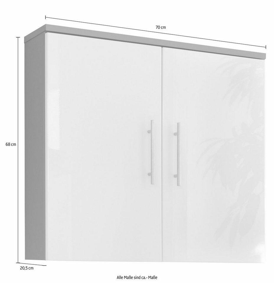 Posseik Hängeschrank »Salona« in weiß