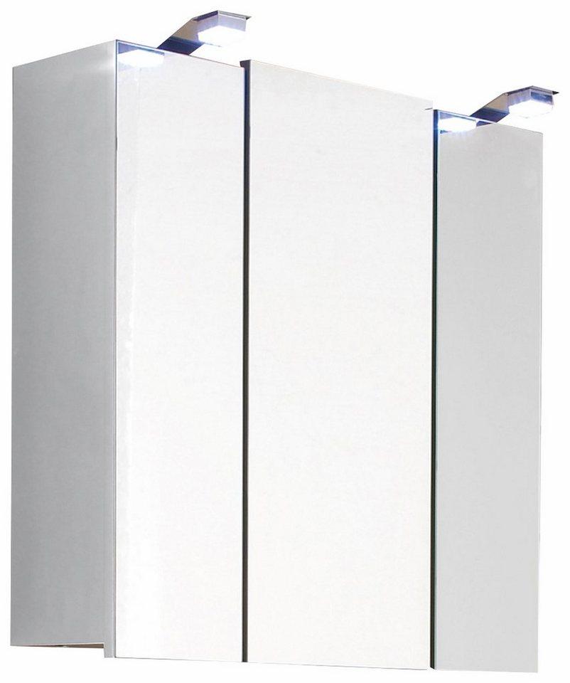 Posseik Spiegelschrank »Salona« in weiß