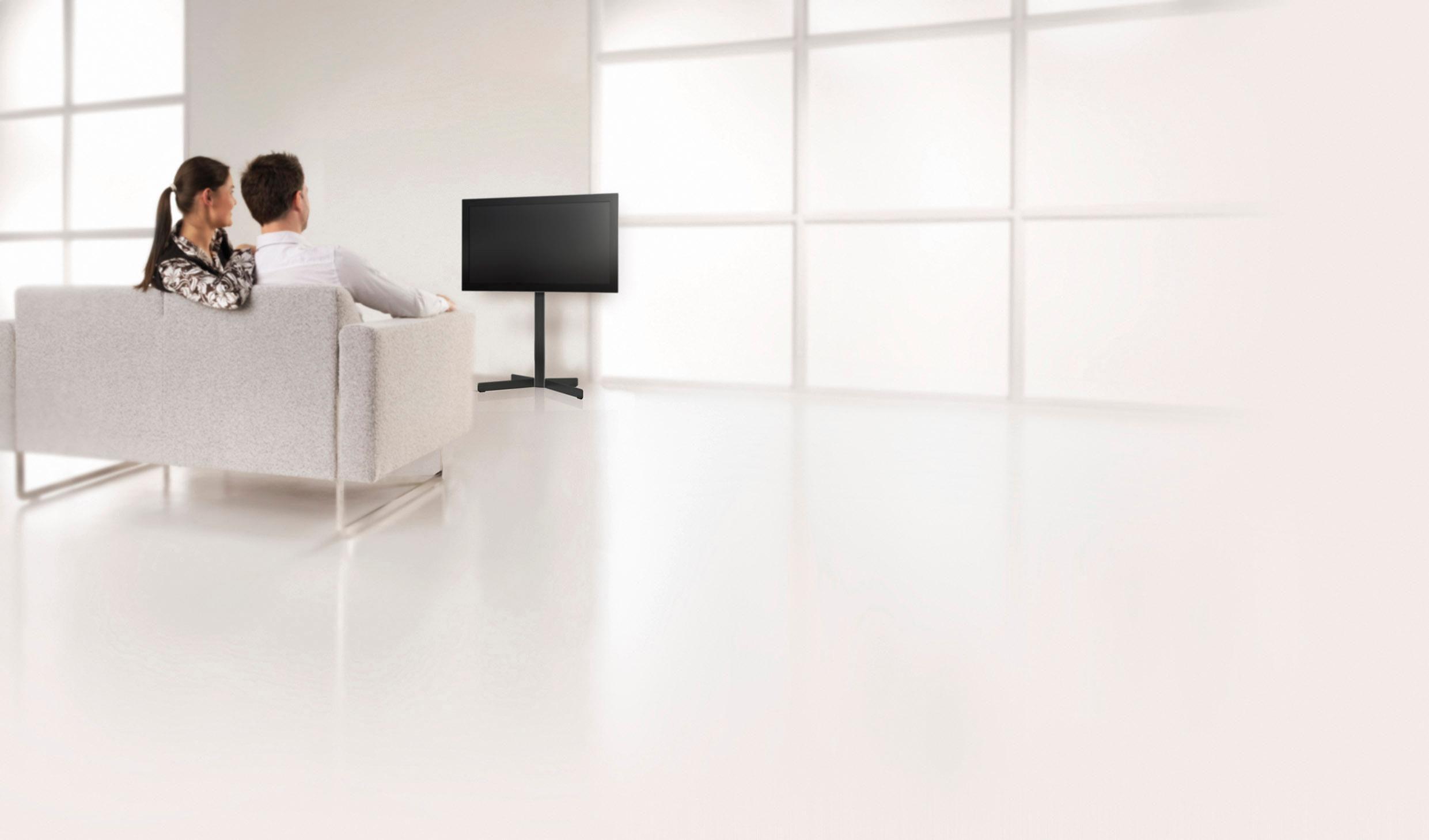 vogel's® TV-Standfuß »EFF 8330«, drehbar, für 101-165 cm (40-65 Zoll) Fernseher, VESA 800x450