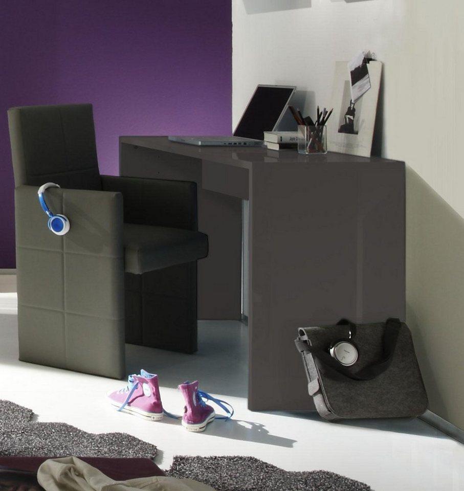 LC Schreibtisch in anthrazit