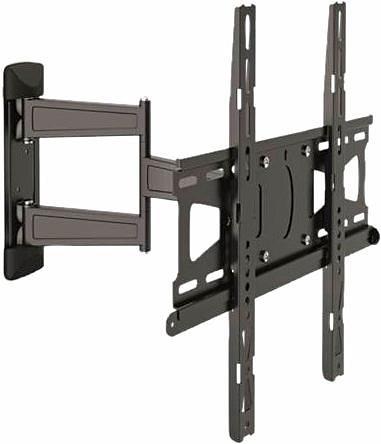 vogel's® TV-Wandhalterung »MNT 208«, schwenkbar, für 81-140 cm (32-55 Zoll) Fernseher, VESA 400x400 in schwarz