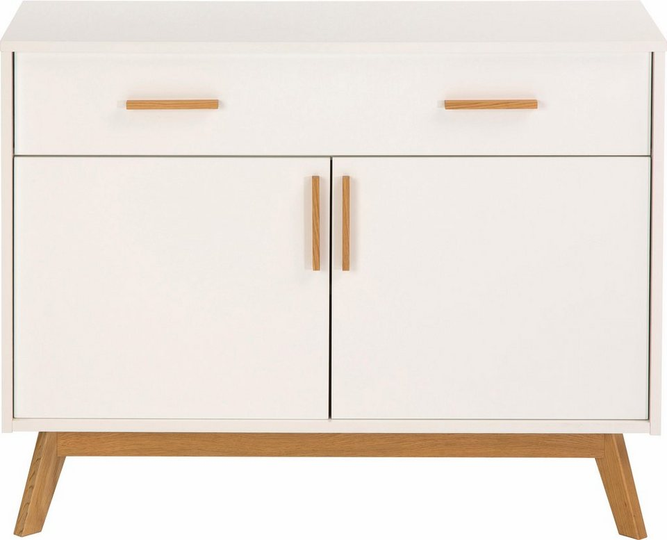 andas sideboard kensal white breite 100 cm otto. Black Bedroom Furniture Sets. Home Design Ideas