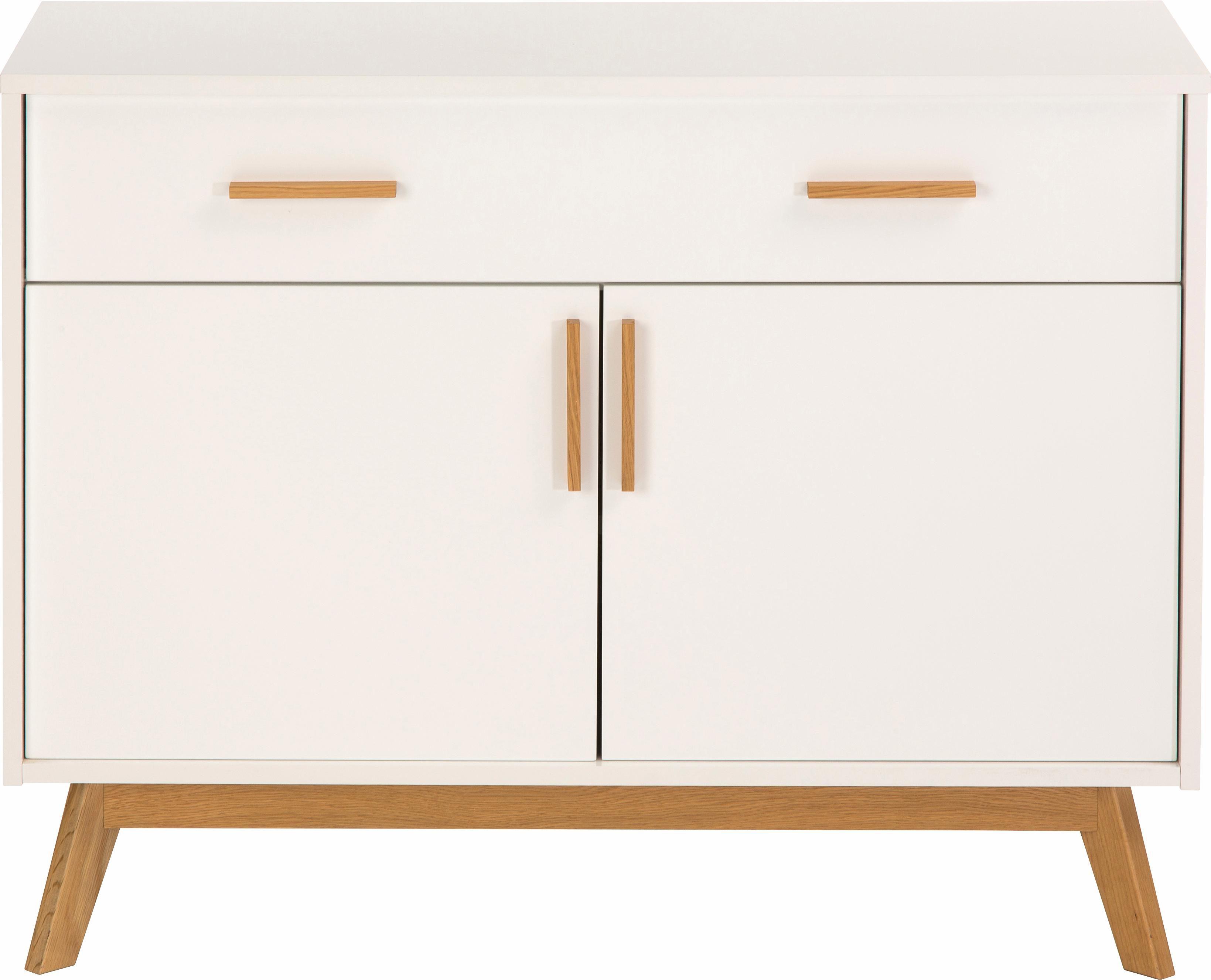 andas Sideboard »Kensal white«, Breite 100 cm