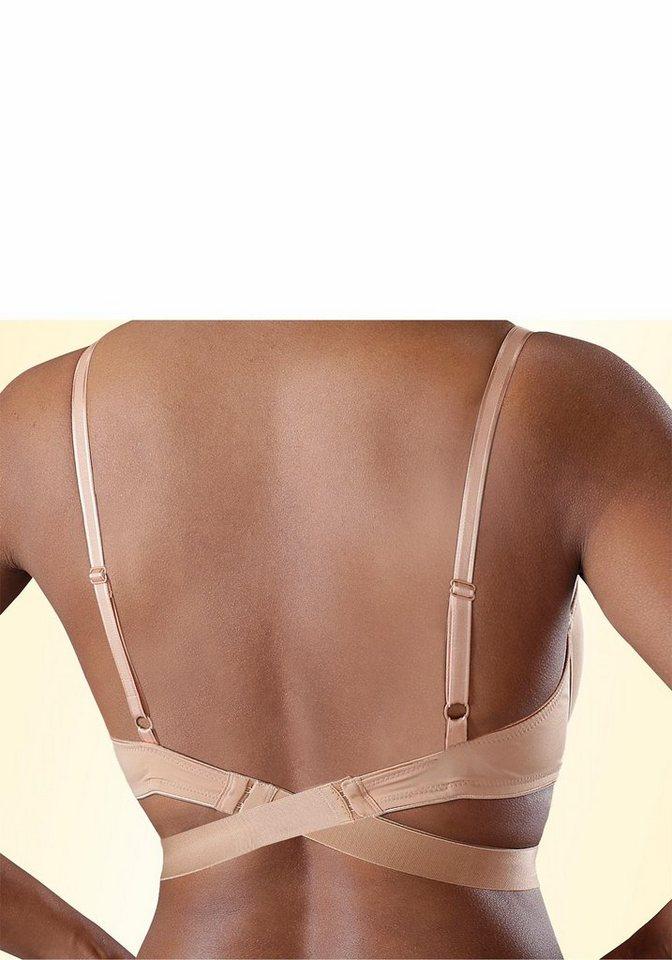 LASCANA BH-Verlängerung für einen tiefen Rücken in hautfarben