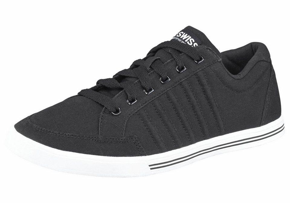 K-Swiss Sneaker »Set Court« in schwarz