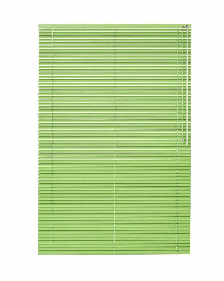 Aluminium-Jalousie, Sunlines, nach Maß in apfelgrün
