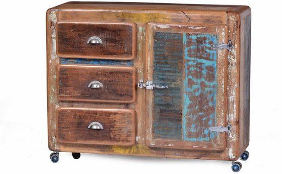 SIT Kommode »Fridge«, Breite 100 cm, mit Kühlschrankgriff